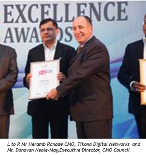 Heramb Ranade bags '50 Most Talented CMO's of India' award.jpg