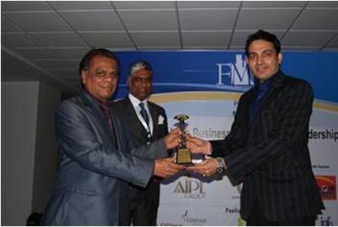 Amit Pandey won 100 Most Talented FM Leaders in India award.jpg